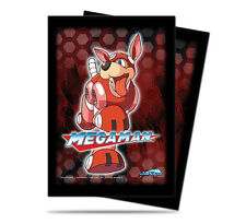 Megaman Standard Card Game Sleeves -1 Pack/50 Sleeves - Rush