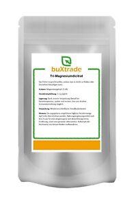 Tri-Magnesiumdicitrat |Citrat | Pulver | Magnesium | Buxtrade | Versch. Mengen