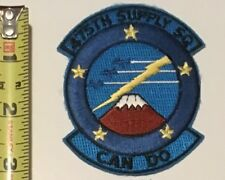 USAF Patch - 475th Supply Squadron Can Do