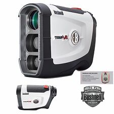 BUSHNELL TOUR V4 GOLF LASER RANGEFINDER JOLT TECHNOLOGY AND CASE