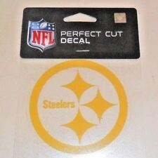PITTSBURGH STEELERS 4 X 4 DIE-CUT DECAL OFFICIALLY LICENSED  WINCRAFT PRODUCT