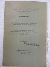 BRACHIOPODS OF OTTOSEE AND HOLSTON FORMATIONS OF TN & VIRGINIA BRADFORD WILLARD