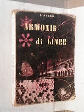 ARMONIE DI LINEE Ugo Russo Federico & Ardia 1961 Geometria Scuola Pedagogia di e
