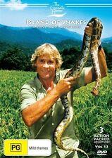 The Crocodile Hunter : Vol 13 (DVD, 2009) Steve Irwin Island Of Snakes