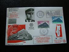 FRANCE - enveloppe 13/11/1978 yt service n° 58 59 (cy19) french