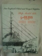 James Bliss Co Ship Model Kits Vintage Catalog From 1966-1967
