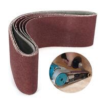 5Pcs 4''x36'' 60 Grit  Aluminum Oxide Sanding Belts Sander Grinding Polishing