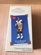 Kurt Warner Collector's Series Hallmark Keepsake Ornament