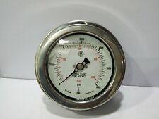 "Mcdaniel 316SS Pression Jauge Code: E6KPB 0-400BAR 0-6000PSI ¼"" 4"" Face Panneau"