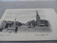 Selkirk Scotland   MARKET SQUARE   1912-1918     VINTAGE POSTCARD GOOD CONDITION