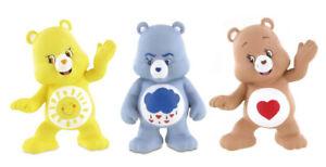 Care Bears Collectible Figures 3er Set Schmusebärchi Brummbärchi