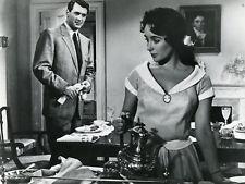 ELIZABETH LIZ TAYLOR  ROCK HUDSON GIANT 1956 VINTAGE PHOTO ORIGINAL #4