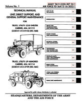 11,500+ page M998 Army HMMWV HUMMER HUMVEE Repair Operator Parts Tech Pubs on CD
