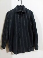 Men's Kenneth Cole Reaction  long sleeve  striped shirt size 15 1/2(32-33)