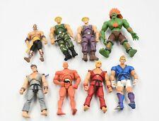 Jazwares - Super Street Fighter Iv Action Figure X8 Job Lot / Bundle