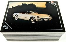 VETTE SET 1991 Complete Set 100 Cards - The History of the Corvette - NM-MT+