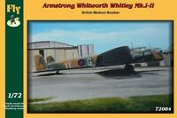 WHITLEY MK I /II  (No. 10, 51, 78 & 97 RAF SQUADRONS MARKINGS) #72004 1/72 FLY