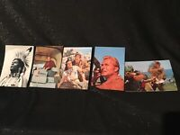 Konvolut Filmpostkarten Karl May Pierre Brice Lex Barker Indianer Postkarte