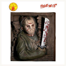 JASON VOORHEES 3D WALL ART BREAKER HALLOWEEN DECOR PROP FRIDAY THE 13TH HORROR