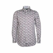 Ted Baker Men's Floral Cotton Collared Casual Shirts & Tops