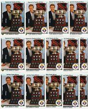 WAYNE GRETZKY 14 CARD LOT 1990-91 UPPER DECK # 205 ART ROSS TROPHY FRENCH & US