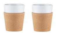 Bodum Bistro 2 Piece Mug with Cork Sleeve 0.3L