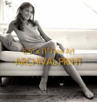 "DIANE LANE Sexy Sitting on a Sofa ** PRO ARCHIVAL LAB PREMIUM PHOTO (8.5"" x 11"")"