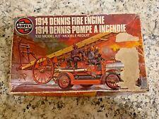 Vintage 1914 Dennis Fire Engine 1/32 Model Kit. AIRFIX Series 6 Interior Sealed