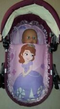 Adorable Dolls Pram Set made to fit Silver Cross ranger prams - Sofia the First