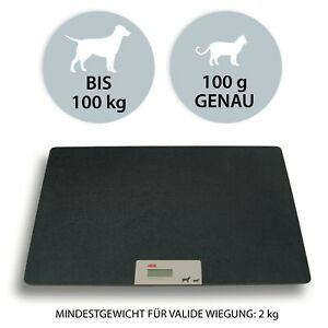 ADE Veterinärwaage XXL Tierwaage digital Hundewaage Katzen Plattformwaage 100kg