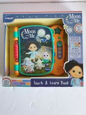 Moon & Me Touch and Learn Book, Vtech NEW.