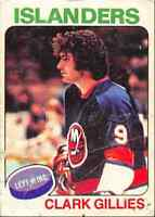 1975-76 O-Pee-Chee Clark Gillies Rookie New York Islanders #199