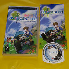 INNOCENT LIFE A FUTURISTIC HARVEST MOON - PSP Versione Italiana ○○ COMPLETO - AT