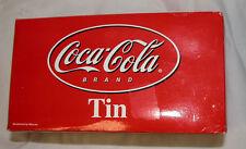 Coca Cola Brand Soda Tin # 8632, Images by Pamela C. Renfroe 1991, Free Ship USA