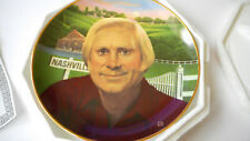 Vintage 1993 George Jones Country Music Singer Legendary Country Cma Plate w/coa