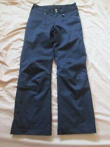 NILS Black Ski Snowboard Snow Winter Pants Size Women's 6 Waterproof Breathable