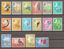 SWAZILAND 1962-66 SG 90/105 MNH Cat £50