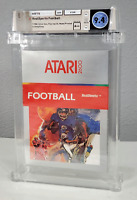 RealSports Football - Graded Wata 9.4 Sealed A++ Atari 2600 Silver Box 1982 USA
