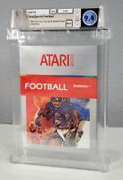 RealSports Football - Graded Wata 9.4 Sealed A++ Atari 2600 Silver Box 1982 USA