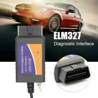 Car Brush Hidden Diagnostic Instrument ELM327 USB Switch OBDII for 25K80 TFSU