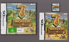 7 WONDERS II (2) (Nintendo DS with Booklet manual)