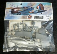 Airfix Brewster F2A-1 Buffalo 1/72 Scale Aircraft Model Kit Bagged