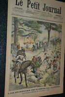 Le petit journal Supplément illustré N°719 / 28-8-1904 / Incendies en Algérie