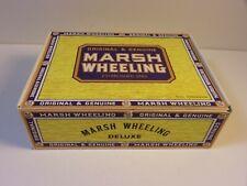 Pre Owned Marsh Wheeling Empty 50 Cigar Box Original & Genuine W/Lite Wear