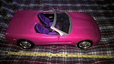 2001 Mattel Remote Control Barbie Corvette Pink Car Rare Vintage covertable