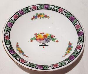 Vintage Royal Doulton Bone China Pin Dish Fruit Basket Design c1937 England