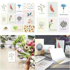 "48 Pack Get Well & Sympathy Greeting Card Bulk Box Classy Floral 4"" x 6"" Envelop"