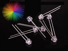 S360 - 20 Stück RGB LEDs 5mm Kurzkopf langsamer Lichtwechsel Regenbogen
