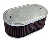 K&N Large Oval Webber Air Filter 561360