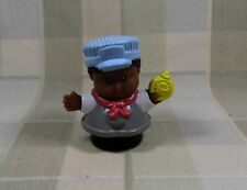 Fisher Price Little People 2001 Michael Train Conductor African American